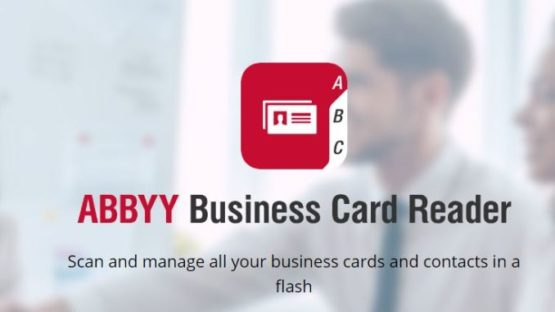 APP OF THE MONTH: ABBYY CARD SCANNER